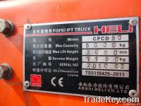 Used HELI CPCD50 Forklift