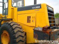 Used KOMATSU Wheel loader (WA380-3)