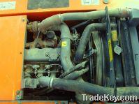 Used HITACHI ZX130W Wheel excavator