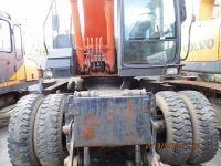 Used HITACHI ZX160W Wheel Excavator,original japan Used HITACHI Wheel  Excavator ZX160W