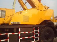 Used KATO KR500-3 Rough Terrain Crane for sale original japan KATO Rough Terrain Crane KR500-3