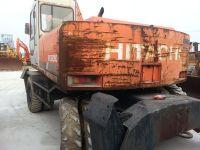 Used HITACHI EX160WD Wheel excavator for sale china original japan