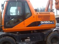 Used DOODAN DH150W-7 Wheel excavator for sale china