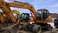Used Hyundai R130W-5 Wheel Excavator sale
