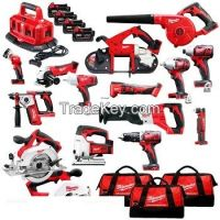 Brand new Milwaukee 2695-15 M18 18-Volt Cordless Power Lithium-Ion 15-Tool Combo Kit