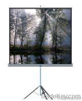 WJ-STO 2-series, Portable Metal Flat tube Octagonal housing Tripod Projection/Projector screens