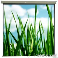 WJ-SWA 1-series, Matte White Steel Square Arc housing Manual/Wall fixing Projection/Projector screens