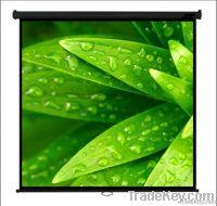 WJ-SWE 1-series, Matte White Metallic Octagonal Wall/Manual Projection/Projector screens