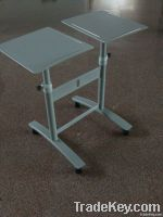 Movable Presenting Dual platform Projection Trolley/Projector Trolley/