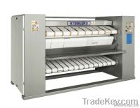 FLAT WORK IRONER WITH DRYING BAND