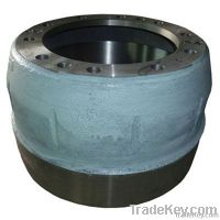 High quality brake drum for MAN