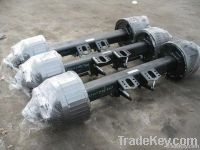 10 bolts Germany BPW type trailer axle