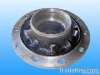 semitrailer and truck wheel hub
