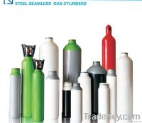 Steel seamless industrial  gas cylinder