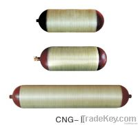 CNG cylinder type 2 CNG2-G-406-100-20B