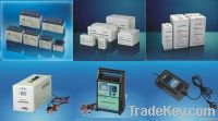 storage battery, fast charger