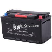 High starting performance DIN Standard SMF Car Battery DIN100 12V 100AH