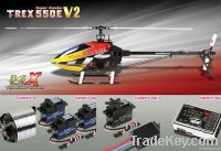 Align T-REX 550E 3GX Super Combo KX021008AT RC Helicopter