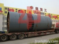 high capacity 3*48m rotary kiln machine for activated lime manufactur