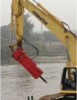 Top type hydraulic breaker for excavator