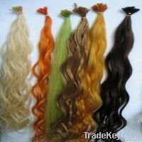 queen hair products, 100% real wholesale human u tip hair extension