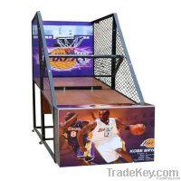 coin operated street basketball arcade game machine (QHNBA-Series)