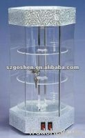 fashion acrylic portable jewelry display cases