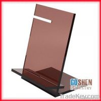 fashion acrylic menu holder