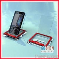 fashion acrylic mobile phone display cabinet