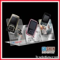 fashion acrylic mobile phone display cabinet