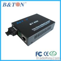 10/1000Mbps Single mode Simplex Fiber media converter
