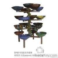 Lavabo Rack, countertop display, countertop tile display