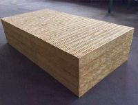 Rock wool thermal insulation material
