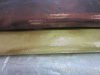 metallic yarn fabric