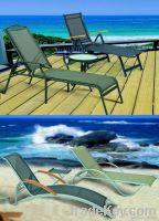 Sun/Outdoor/Beach/Chaise/Adjustment Metal lounge chair