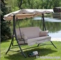 Patio swing chair/3 person/leisure/Outdoor