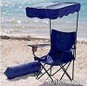 Beach chair with canopy/shade/Fishing chair/Folding beach chair