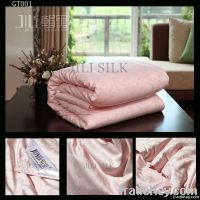 Pink Chinese handmade quilt