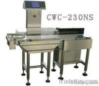 CWC-230NS conveyor checkweigher