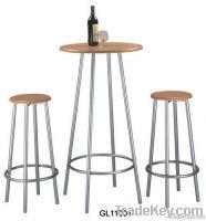 bar table and stool set, bar table, bar stool, coffee table