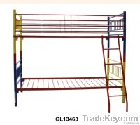 metal bed, school bed, children bed