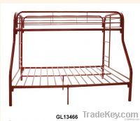 metal bed, school bed, children bed
