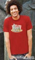 custom logo promotional t-shirt, round neck printing t-shirt