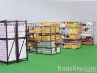 heavy duty metal storage shelf, metal rack