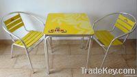 advertising table, aluminum tabe, garden table, outdoor table