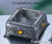 metal ashtray