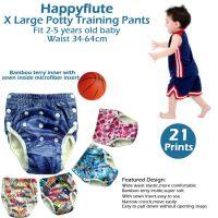 Happyflute X Large potty training pants, fit 2-5 years baby, waist 34-64cm