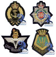 Bullion Badges   Bullion Blazer Badges   Hand Embroidery Blazer Badges