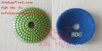 abrasive pad, polishing pad, diamond flexible polishing pad