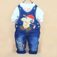 Cute Baby Overalls Jeans